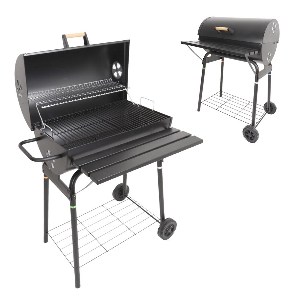 Azuma barrel bbq barbecue summer garden patio outdoor for Modern barbecue grill