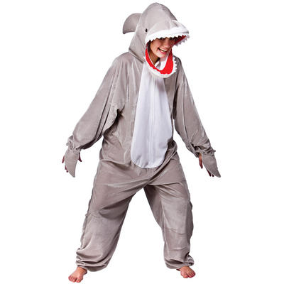 Shark Ocean Creature Sea Fish Animal One Piece Fancy Dress Costume