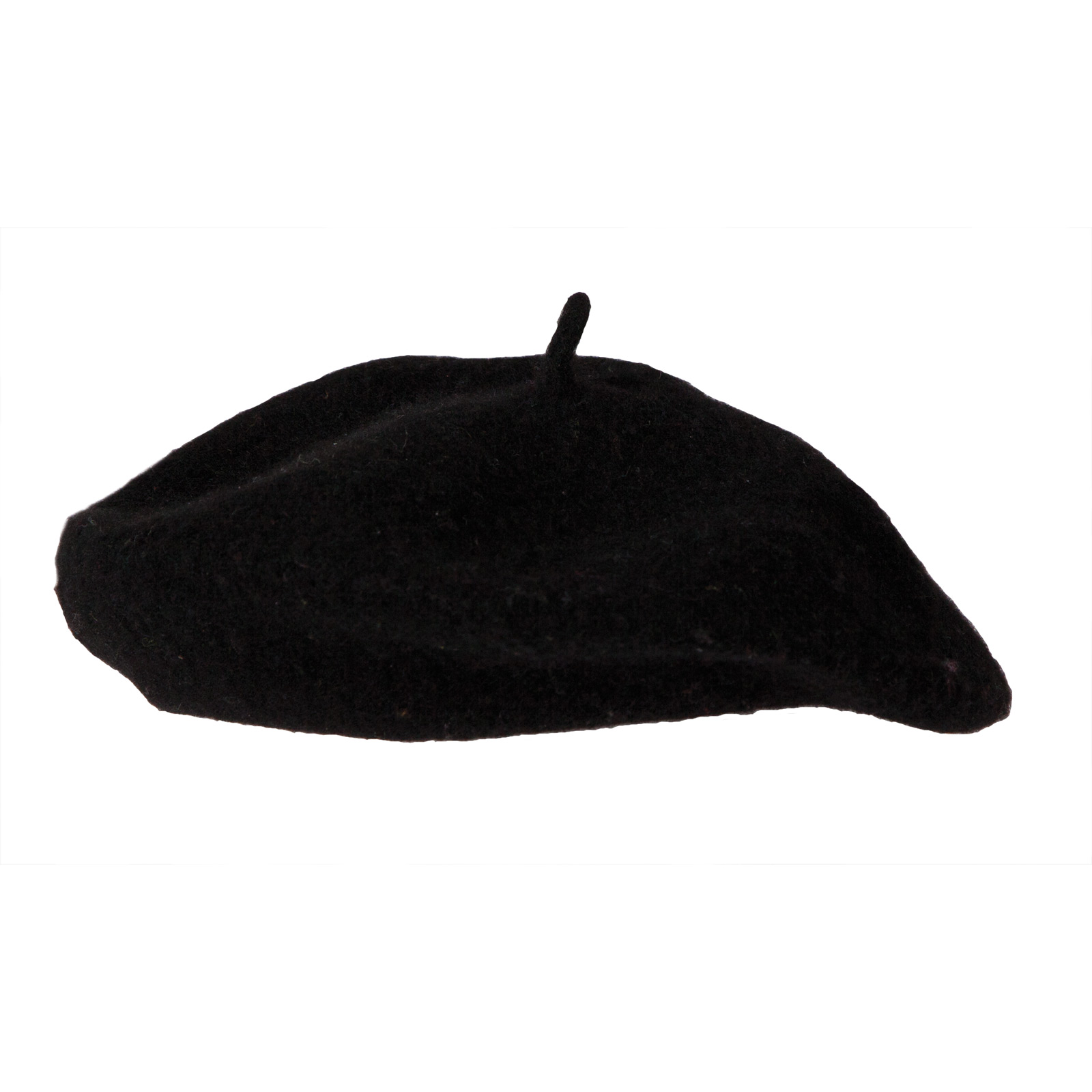 Mens Black French Beret Hat Cap Halloween National Fancy Dress Accessory New