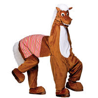 Horse Full Body Mascot 2 Man Pantomime Charity & Fancy Dress Costume