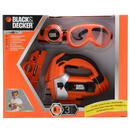 Kids Black &amp; Decker Plastic Battery Power Jigsaw Tool Set Ages 3+ 