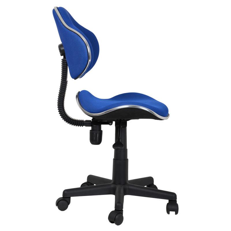 Blue Adjustable Swivel Computer Desk Office Chair Seat Thumbnail 2