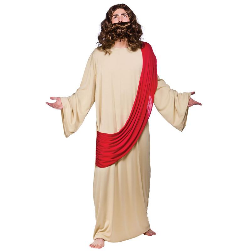 jesus religion holy fancy dress costume new. Black Bedroom Furniture Sets. Home Design Ideas