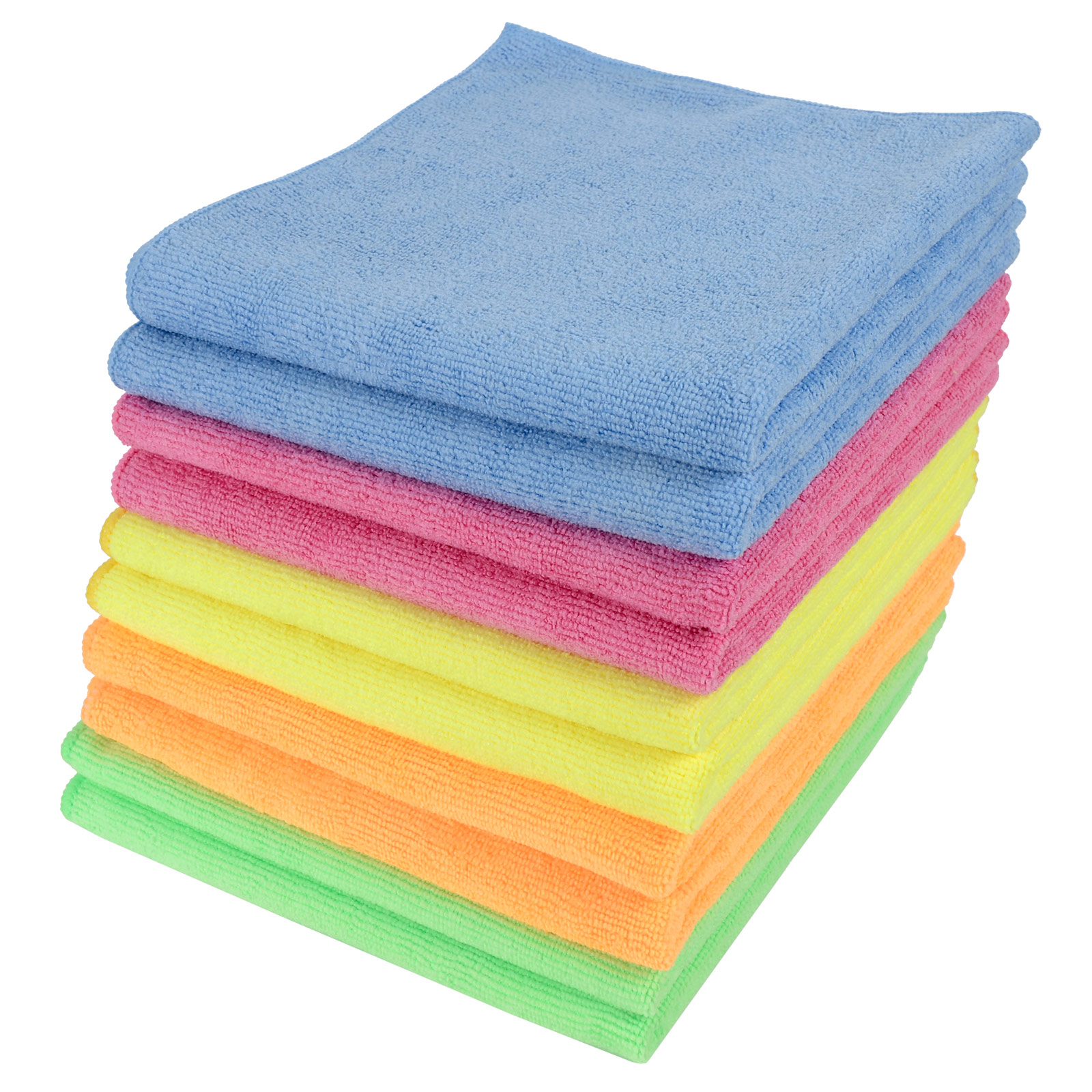 Large microfibre home kitchen car valeting dusters for Glass cleaning towels