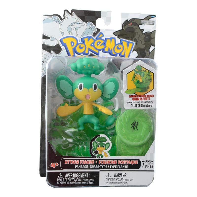 Toys For Boys Black : Pokemon black white attack figure figurine boys toy ages