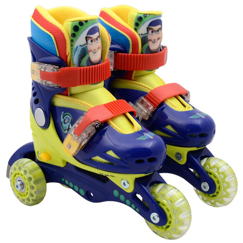 Rollerblades And Toys : Disney pixar toy story adjustable roller blades skates