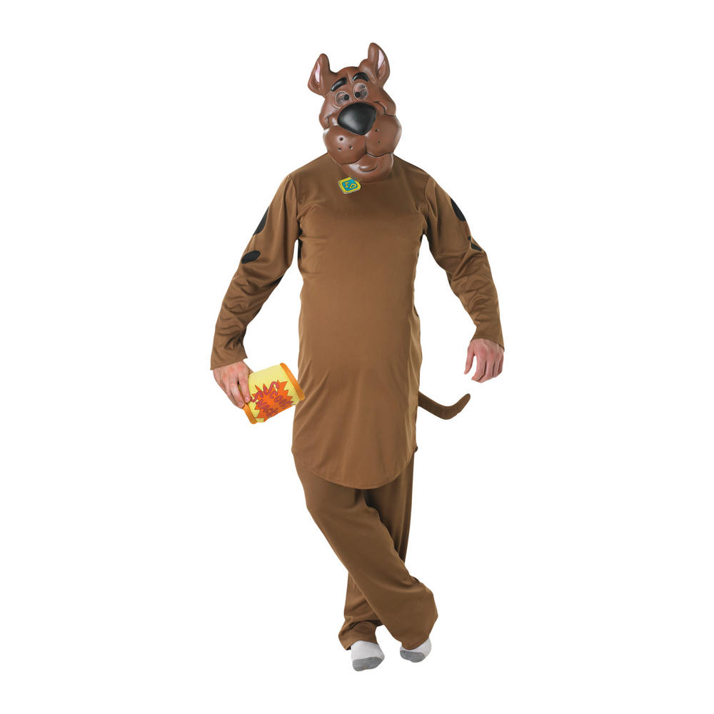 Adult scooby doo tv film fancy dress costume new preview
