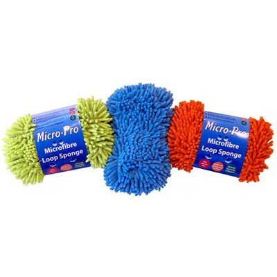 36 Assorted Microfibre Jumbo Loop Sponge Wholesale Job