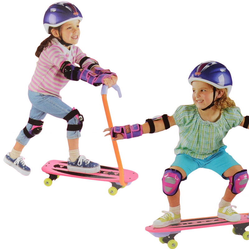 Childrens Barbie Switchboard Scooter Skateboard New
