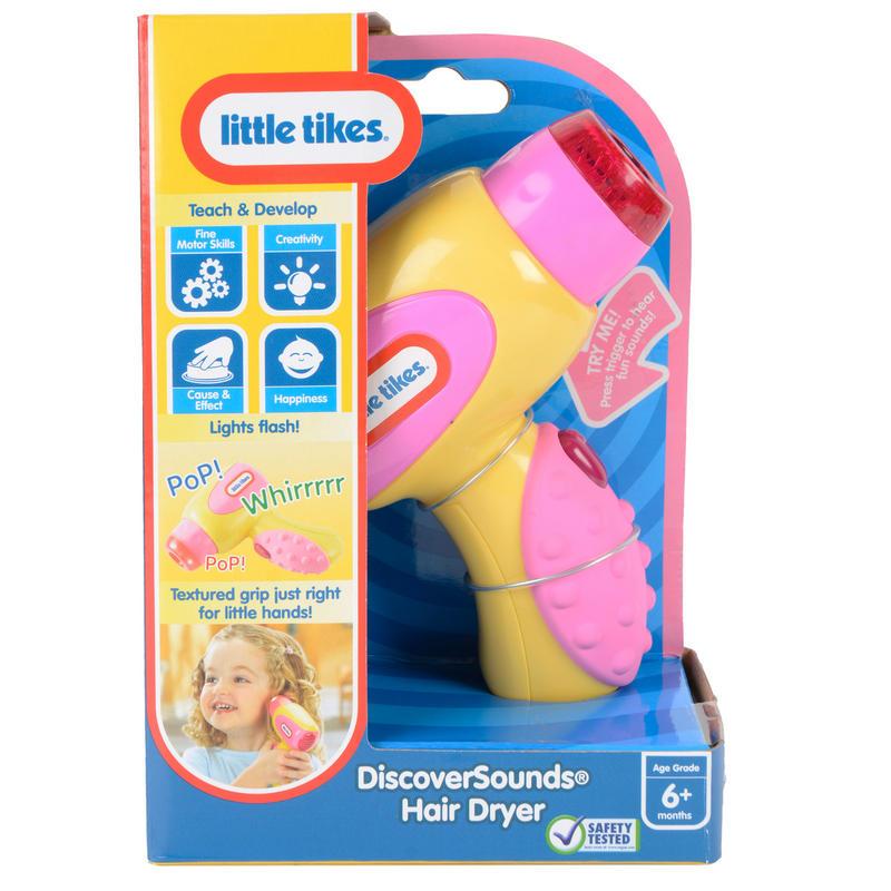 Childrens Little Tikes Discovery Hairdryer Teach Develop Toy New # Kuchnie Dla Dzieci Little Tikes