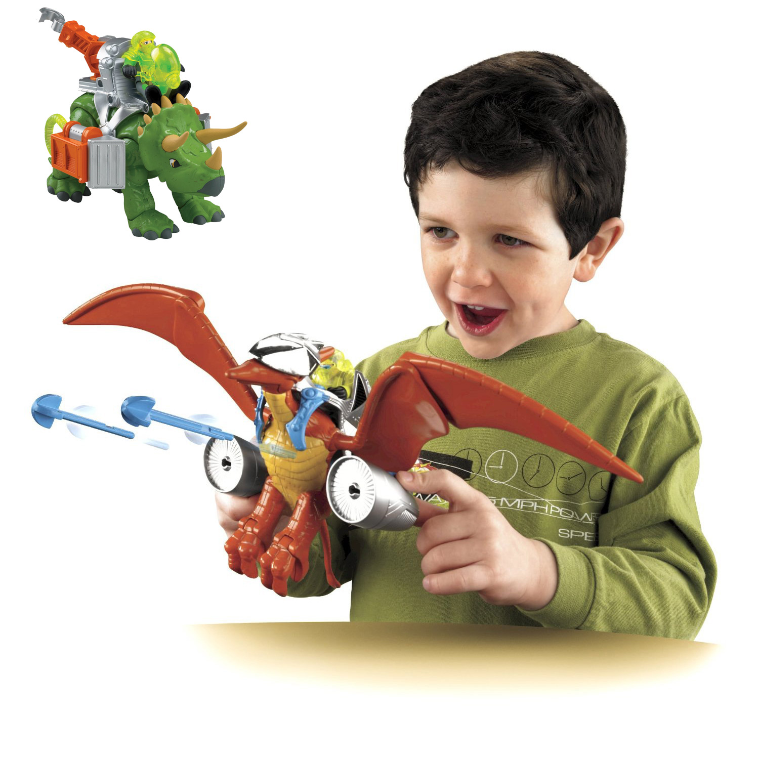 Dino Toys For Boys : Kids boys fisher price imaginext dinosaur toy includes dvd
