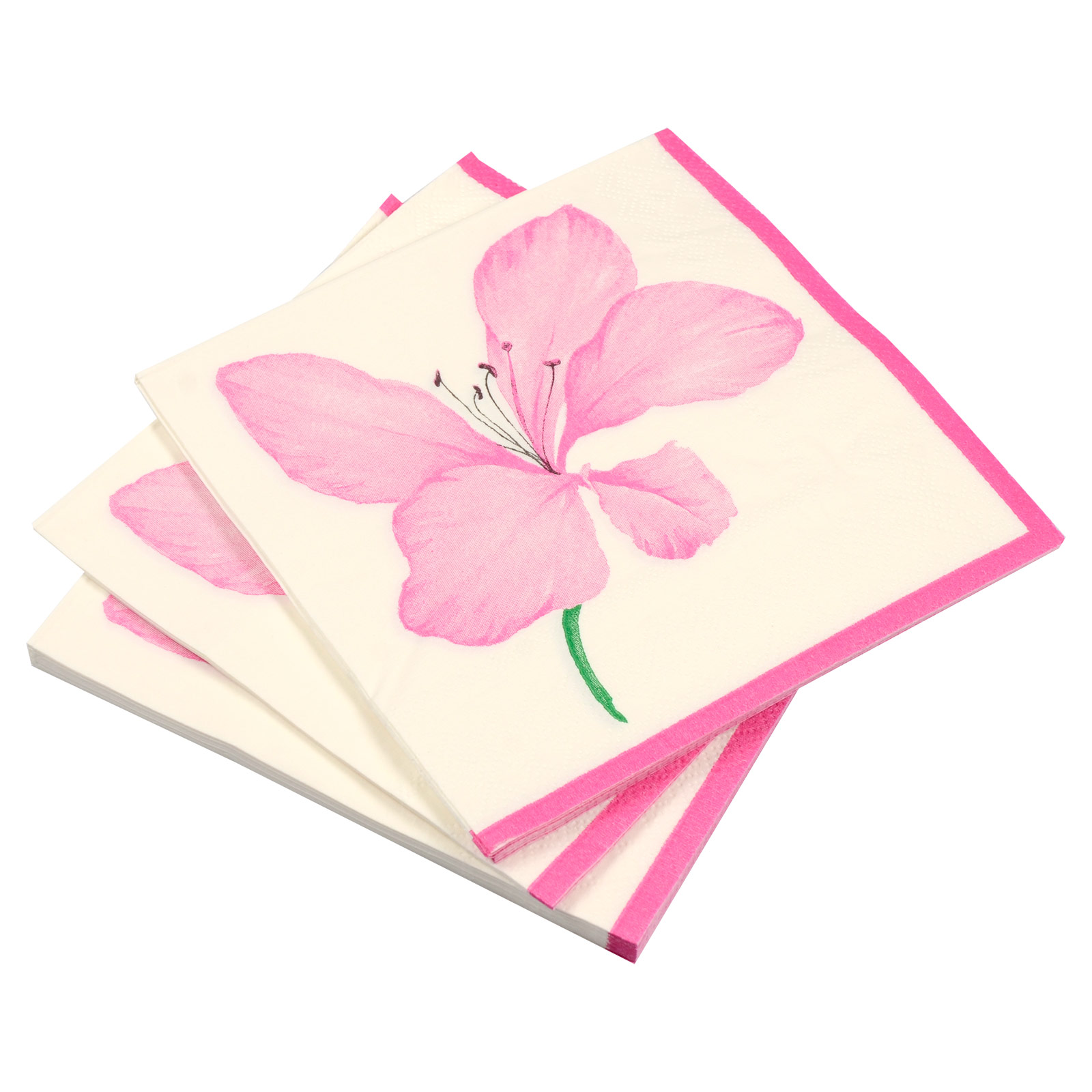 paper party napkins Our collection of colored paper napkins are available in exciting range of solid colors, made from 2-ply paper they are soft to touch and are highly absorbent.