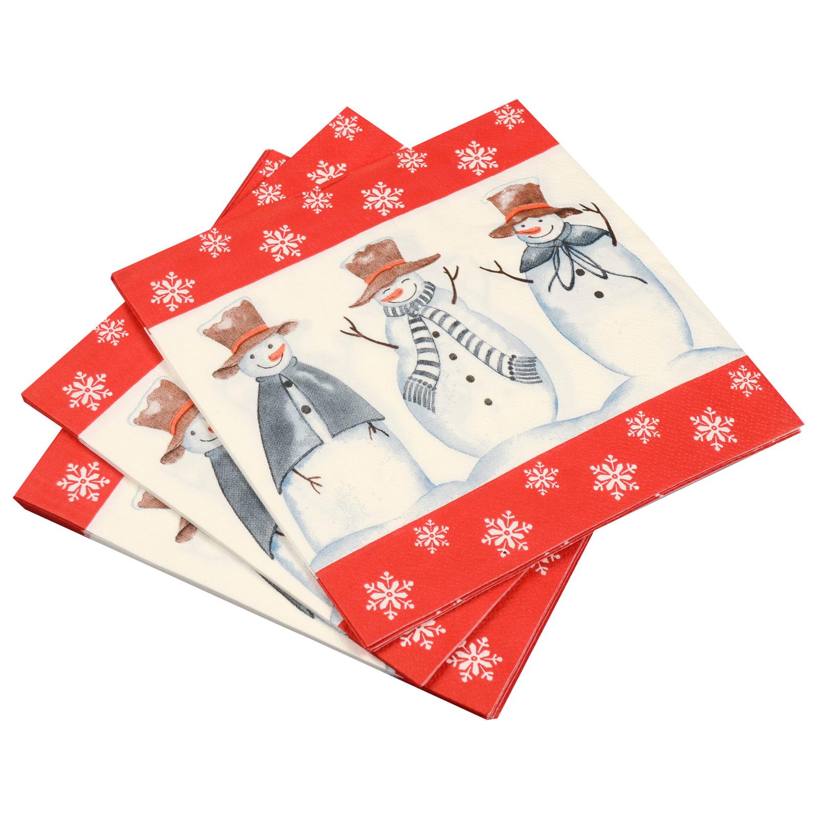 3-Ply-Square-Disposable-Paper-Napkins-Serviettes-Party-Tableware-30-Designs