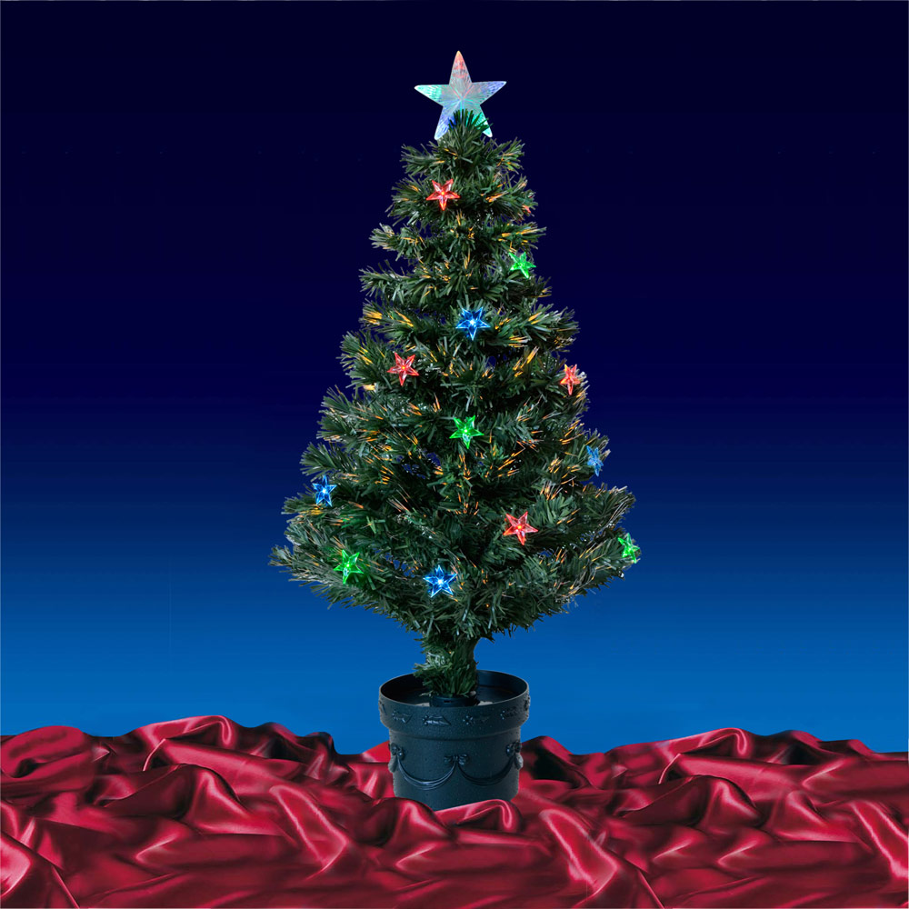 Fiber Optic Christmas Tree 3 Ft