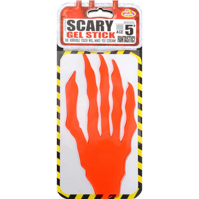 Wholesale Job Lot 48x Stickers Blood Red Hand Splat Decor Halloween Decorations