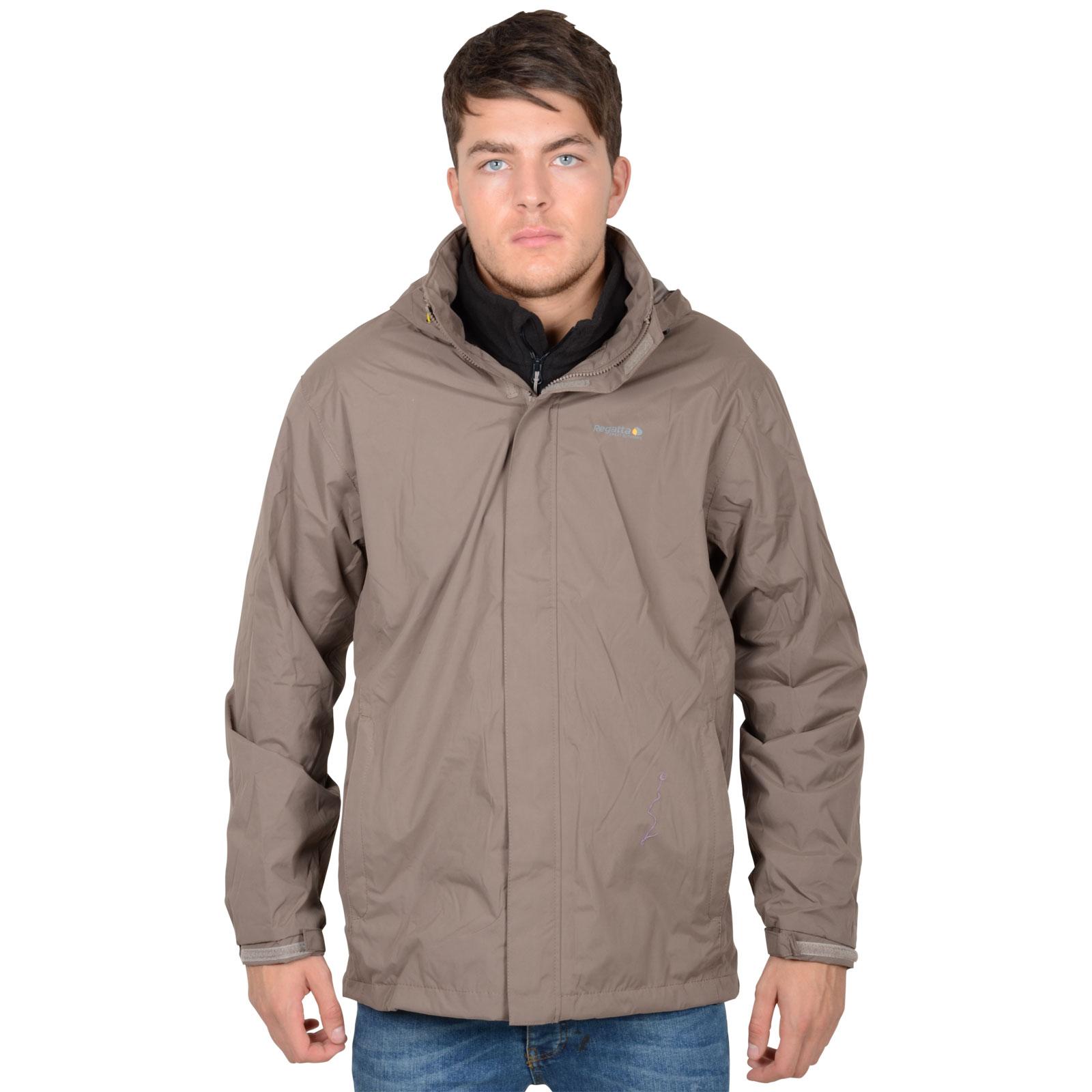 Mens Regatta Matthews Waterproof Outdoor Jacket Rain Coat With ...