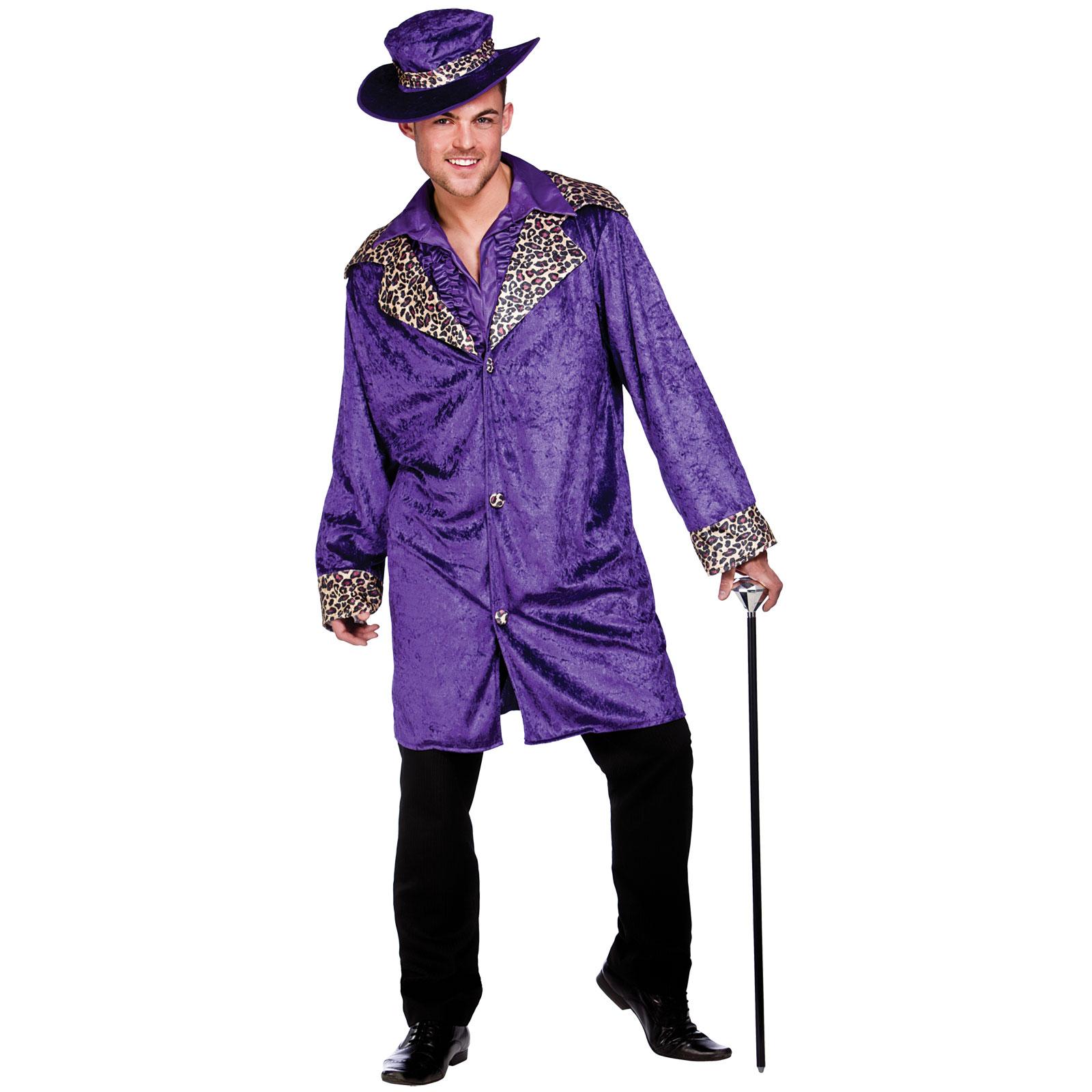new mens pimp daddy player bling gangster fancy dress halloween