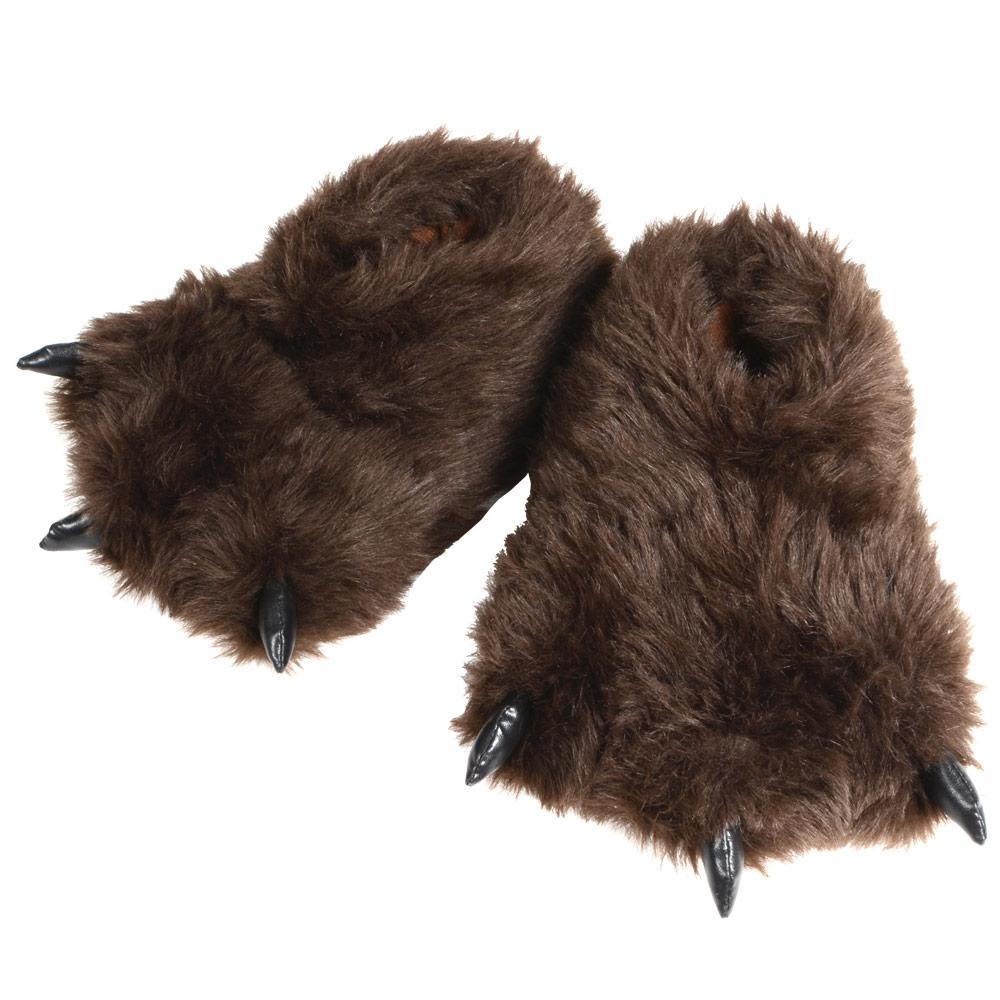 Bear Feet Shoes Leather