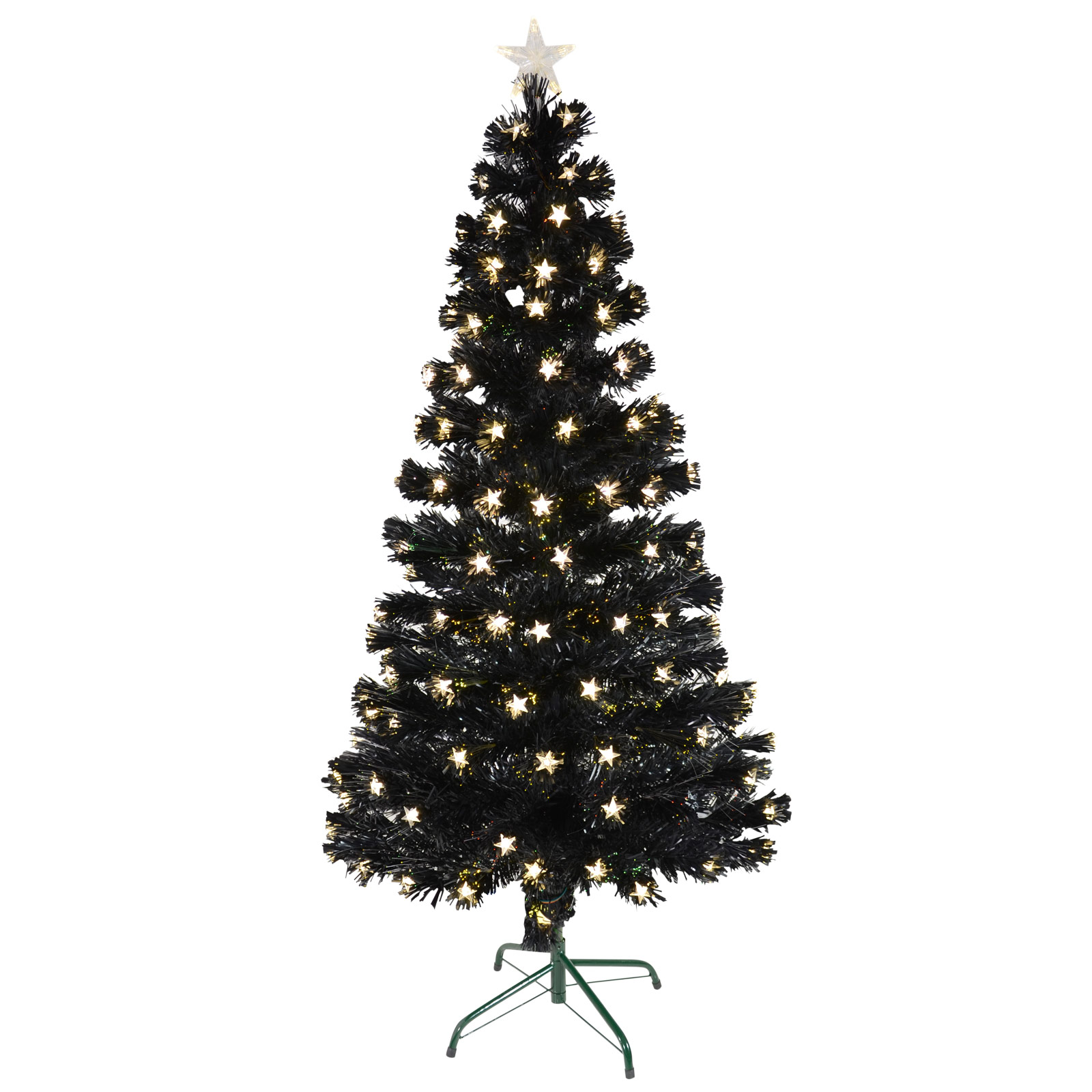6ft White Fibre Optic Christmas Tree