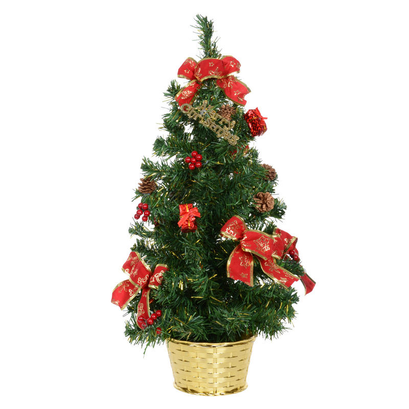 Decorate Christmas Tree With Bows : Cm decorated green tree with red bows