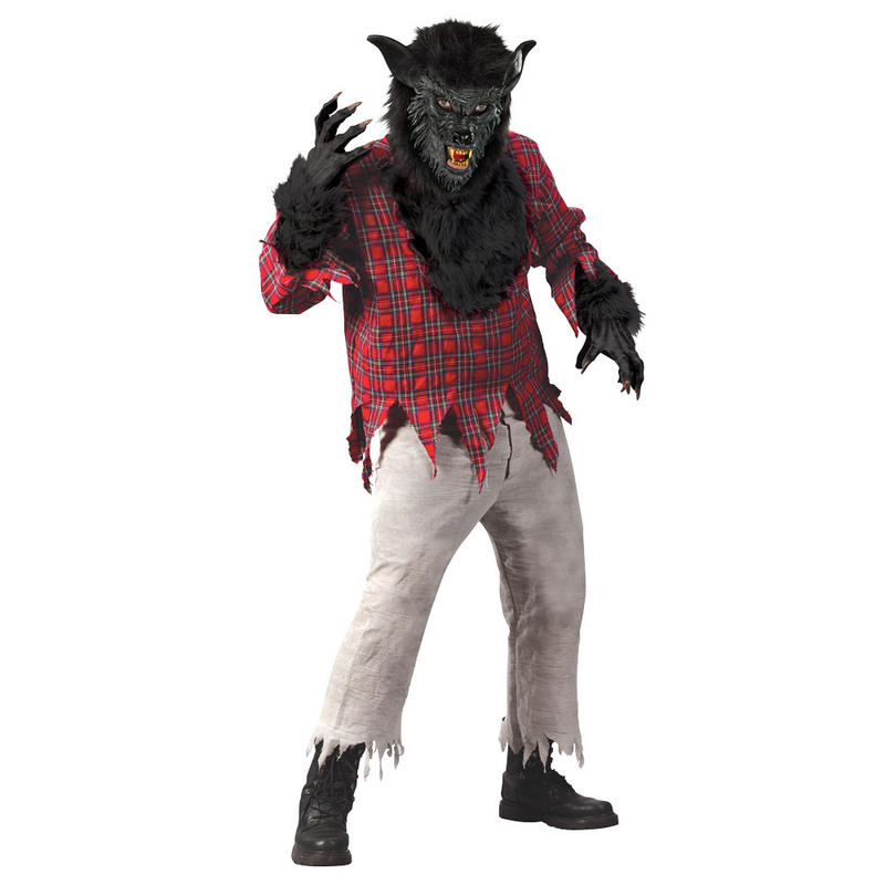 Black Werewolf Fancy Dress