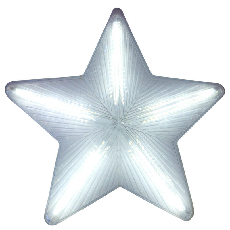 3d pvc star wall plaque christmas decoration new. Black Bedroom Furniture Sets. Home Design Ideas