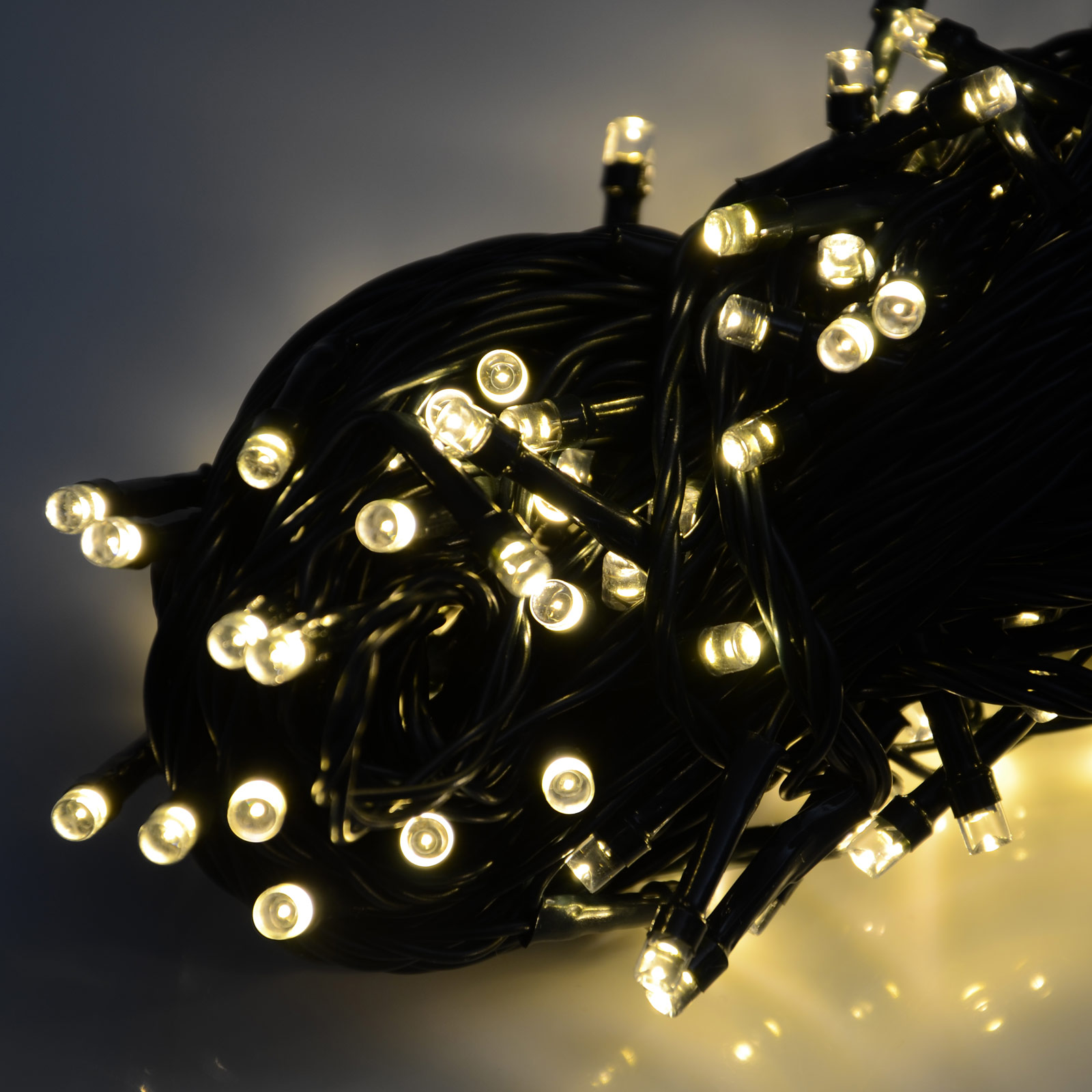 battery operated 200 led christmas xmas lights chain with. Black Bedroom Furniture Sets. Home Design Ideas