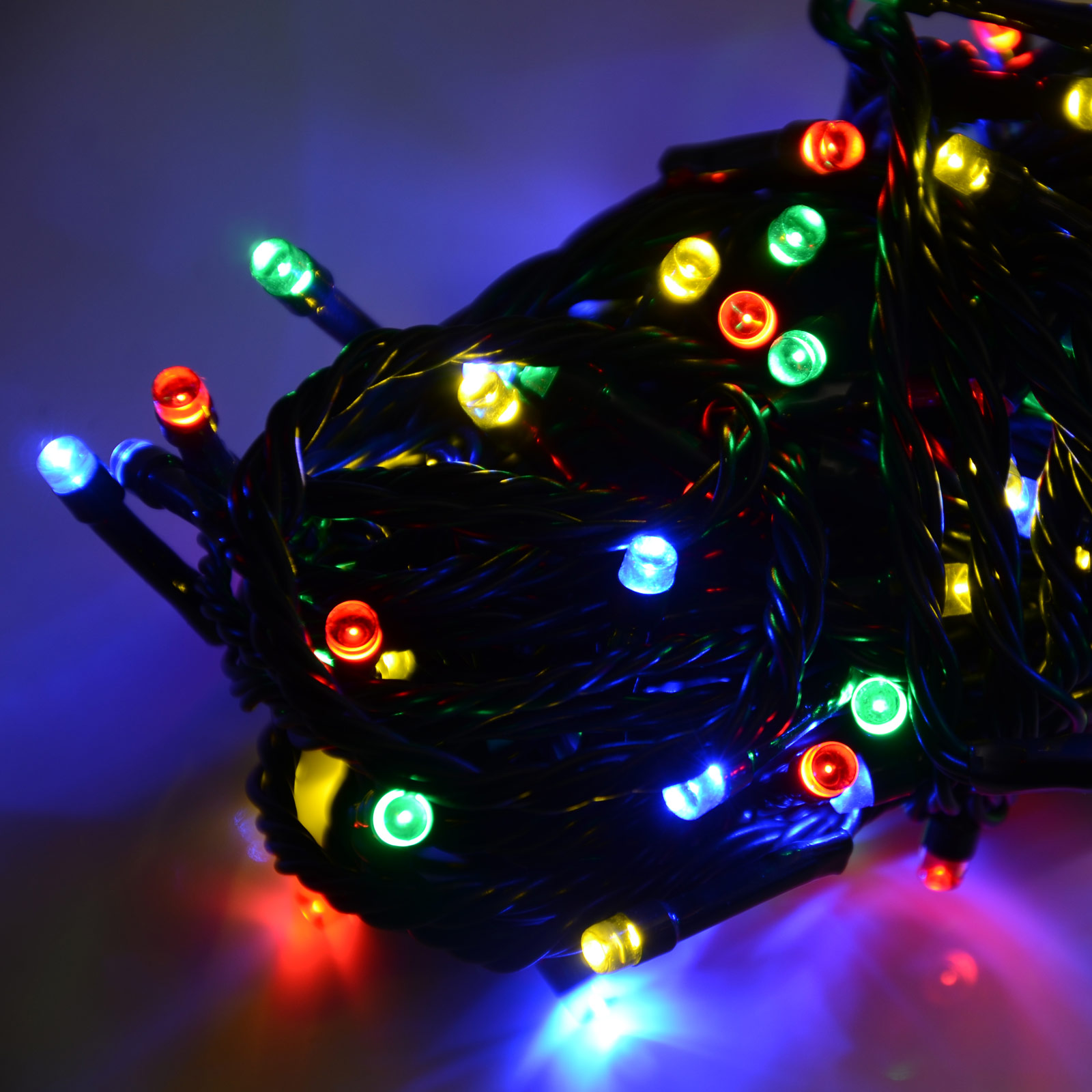 Battery operated led christmas xmas lights chain with