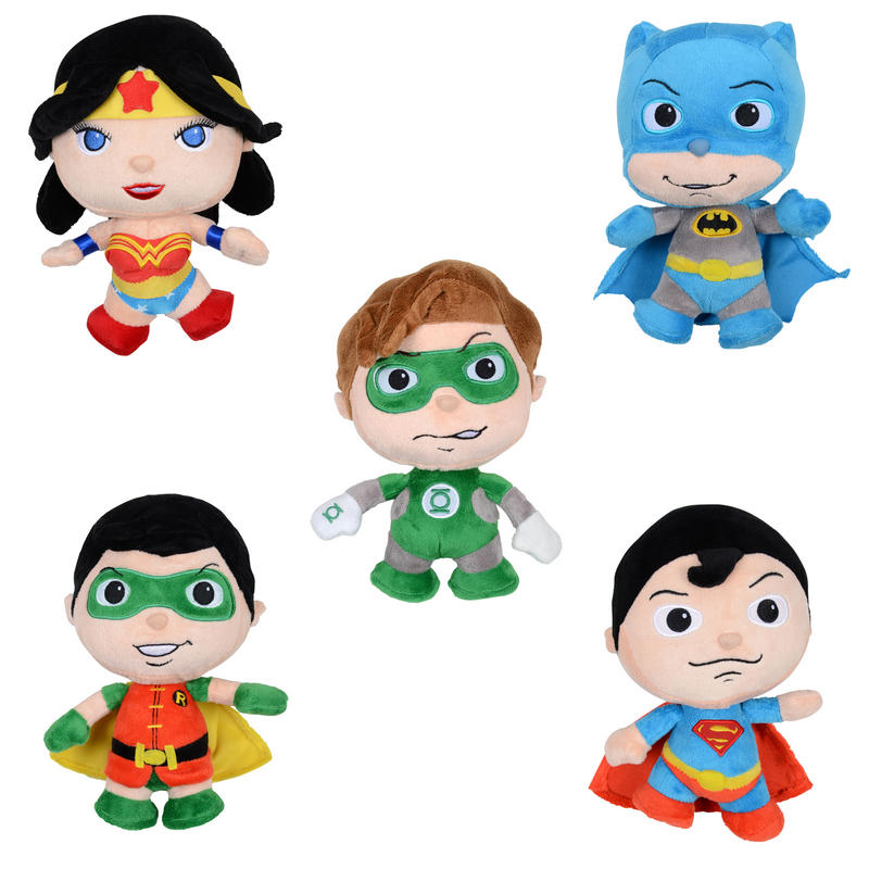 DC Comics Superhero Soft Plush Cuddly Stuffed Toy New Preview