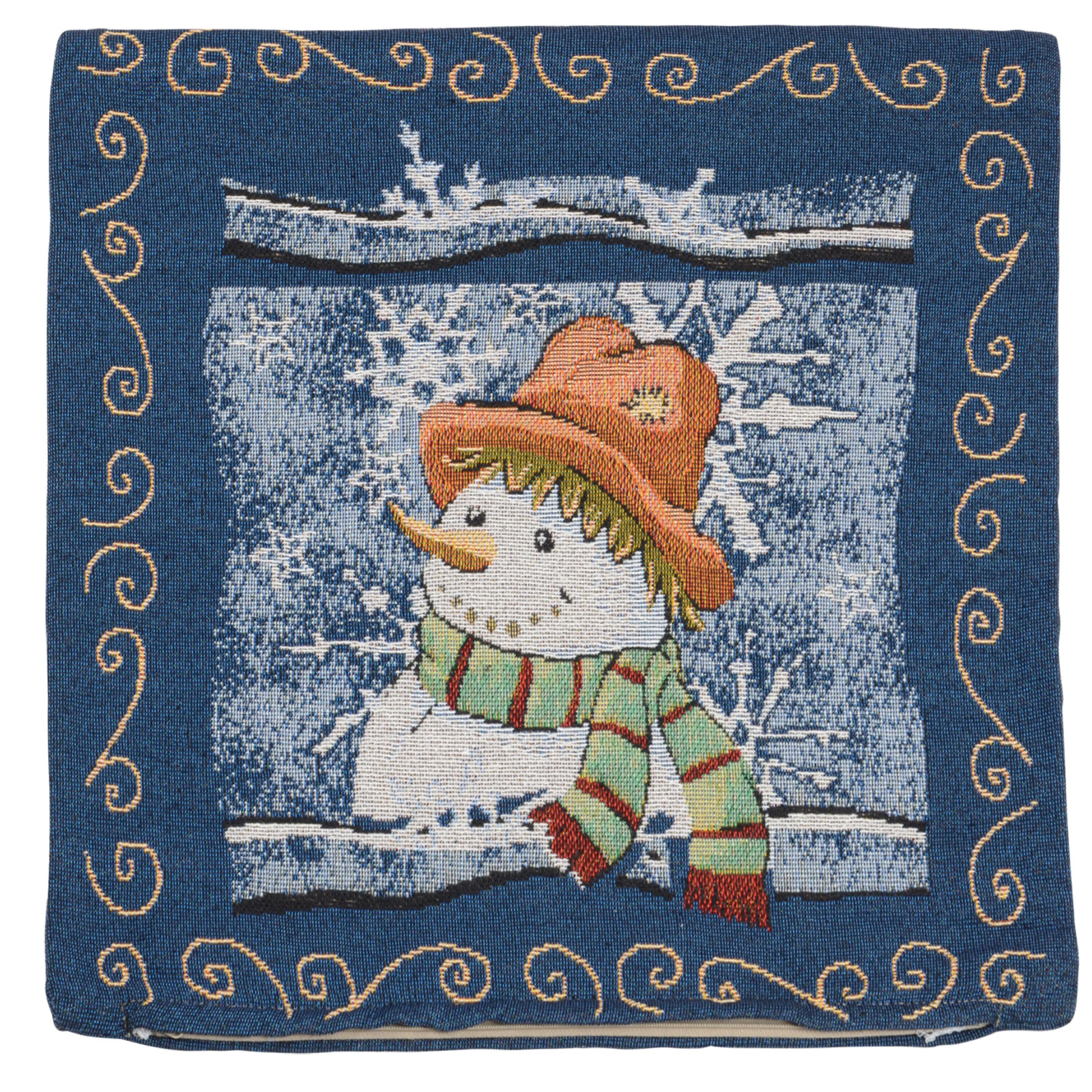 """Cushion Cover - Gorgeous Christmas Designs 18"""" (45cm) Tappestry Style Cushion"""