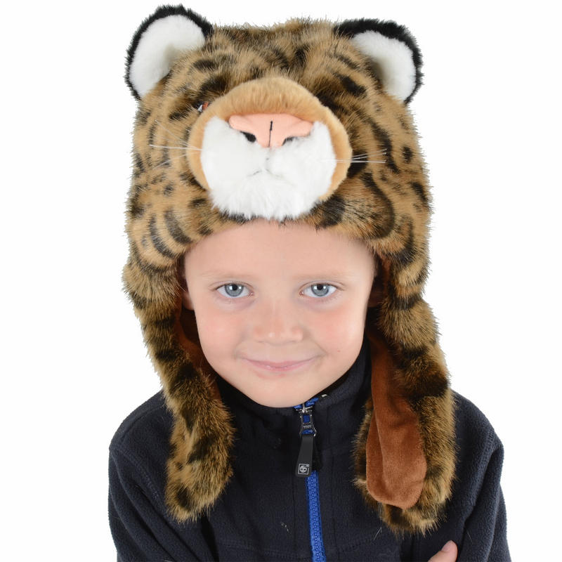Free Shipping. Buy Plush Black/White Leopard Animal Hat - Leopard Hat with Ear Flaps and Poms at shopnow-ahoqsxpv.ga