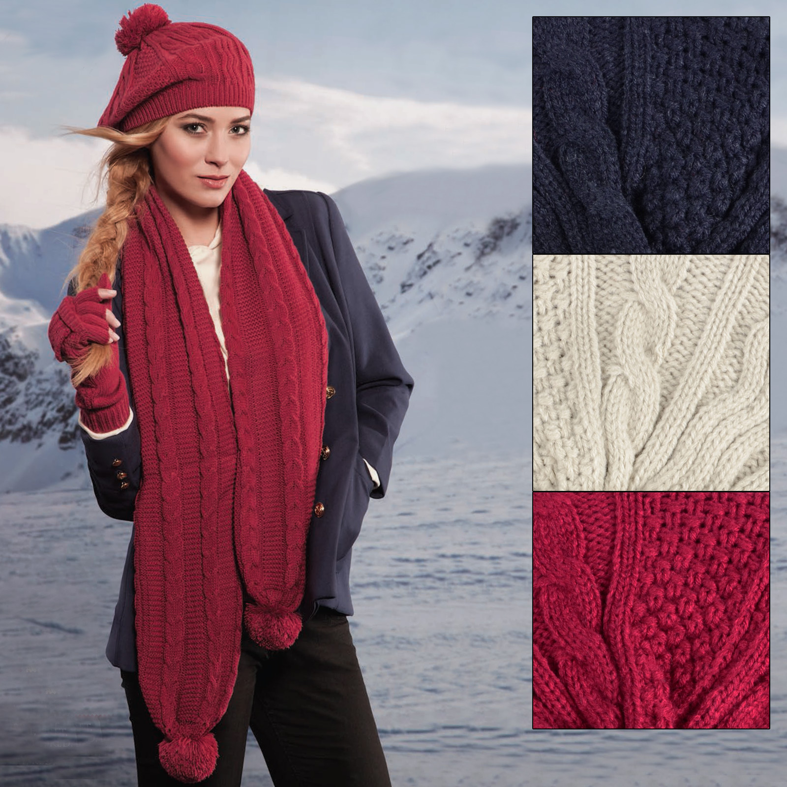 Simple Ways to Update Your Wardrobe: Gloves, Hats & Scarves for Women