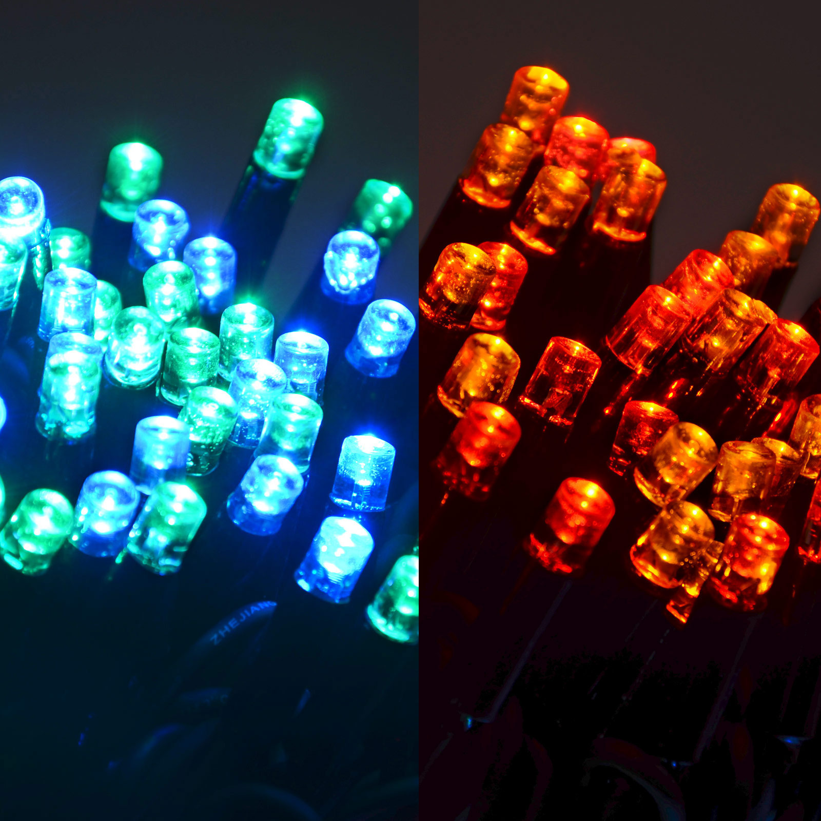 String Lights Mains : 100 LED String Lights (10m) Connectable Waterproof Outdoor Christmas Fairy Mains eBay
