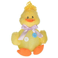Easter Light Up Plush Yellow Chick Decoration Decor New