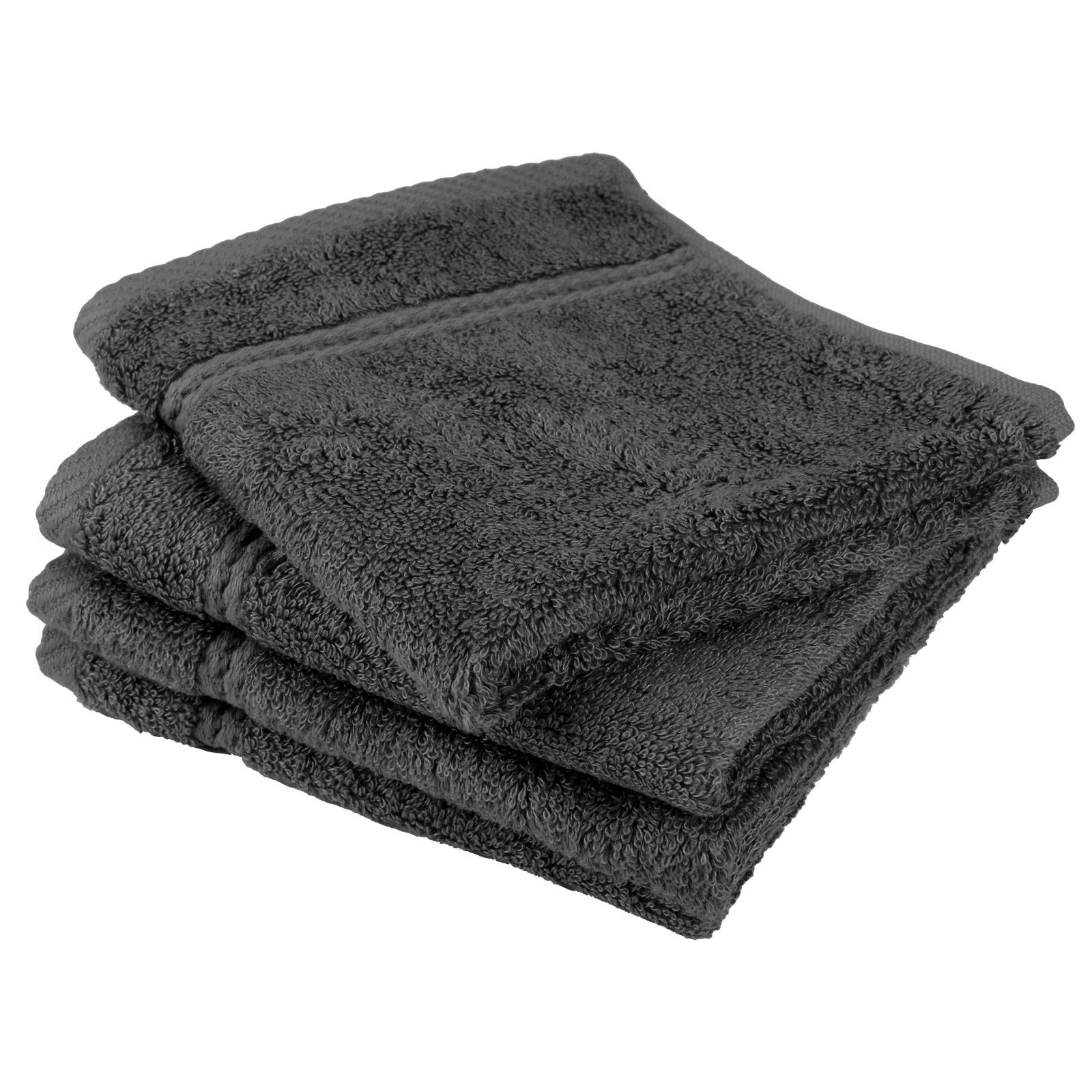 Slate Grey Bathroom Cabinets: Slate Grey Bamboo Bathroom Bath Linen Soft Face Cloth
