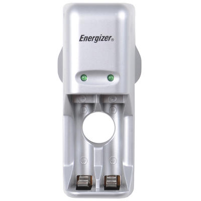 Energizer AA / AAA Rechargeable Battery Charger With 2xAAA Batteries Perfect For Audio & MP3 Players