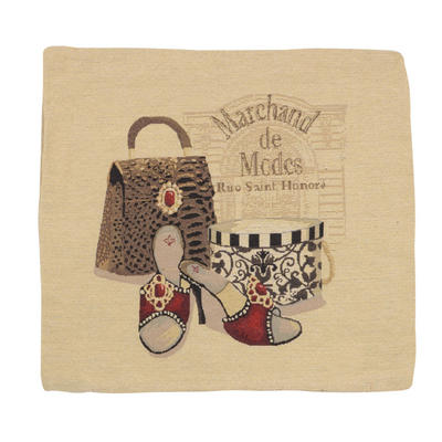 """Wholesale Job Lot Of 10 Cushion Covers With """"Marchand"""" Tapestry Style Design 45cm (18"""")"""
