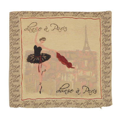 "Wholesale Job Lot Of 10 Cushion Covers With ""Ballerina"" Tapestry Style Design 45cm (18"")"