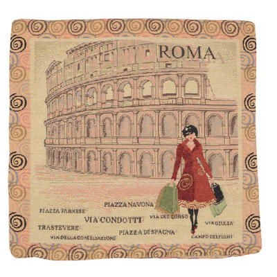 "Wholesale Job Lot Of 10 Cushion Covers With ""Rome"" Tapestry Style Design 45cm (18"")"