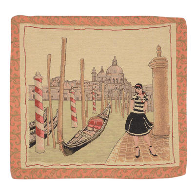 "Wholesale Job Lot Of 10 Cushion Covers With ""Venice"" Tapestry Style Design 45cm (18"")"