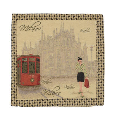 "Wholesale Job Lot Of 10 Cushion Covers With ""Milano"" Tapestry Style Design 45cm (18"")"