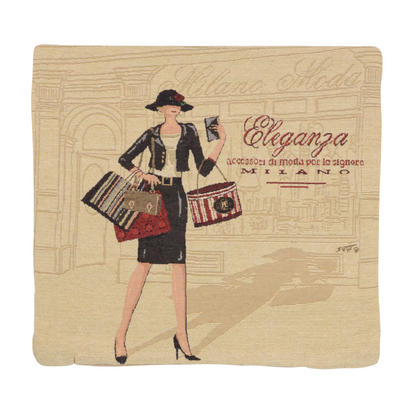 "Wholesale Job Lot Of 10 Cushion Covers With ""Eleganza"" Tapestry Style Design 45cm (18"")"
