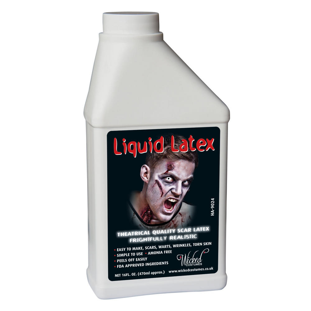 Liquid Latex Horror FX Makeup Fancy Dress Accessory : Halloween : XS ...