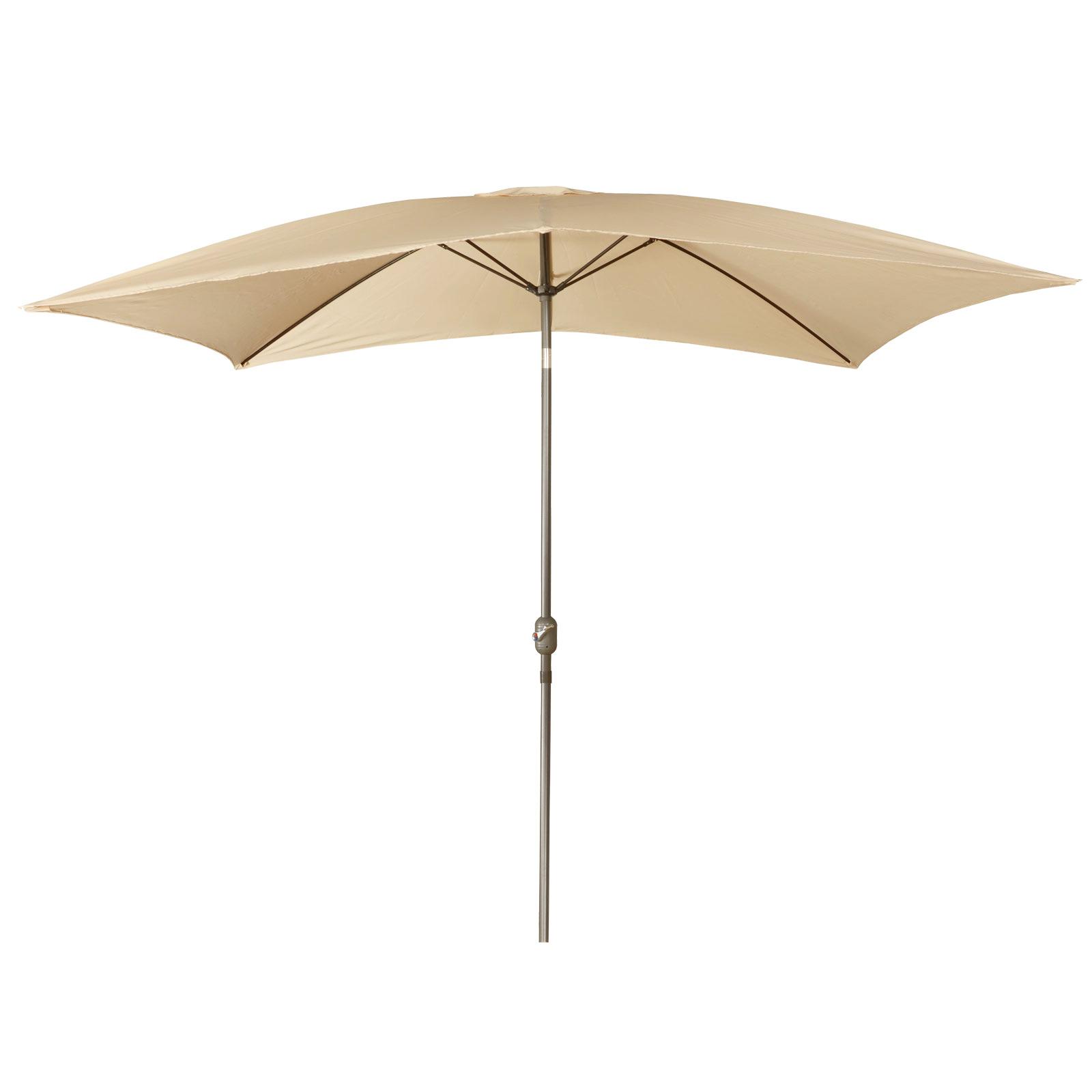 2m x 3m rectangular tilting canopy garden parasol sun for Canopy umbrella