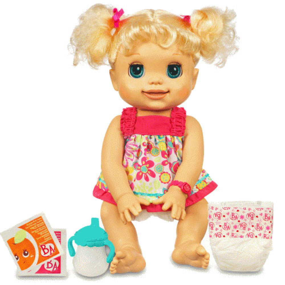 Childrens Baby Alive My Real Baby Doll Toy