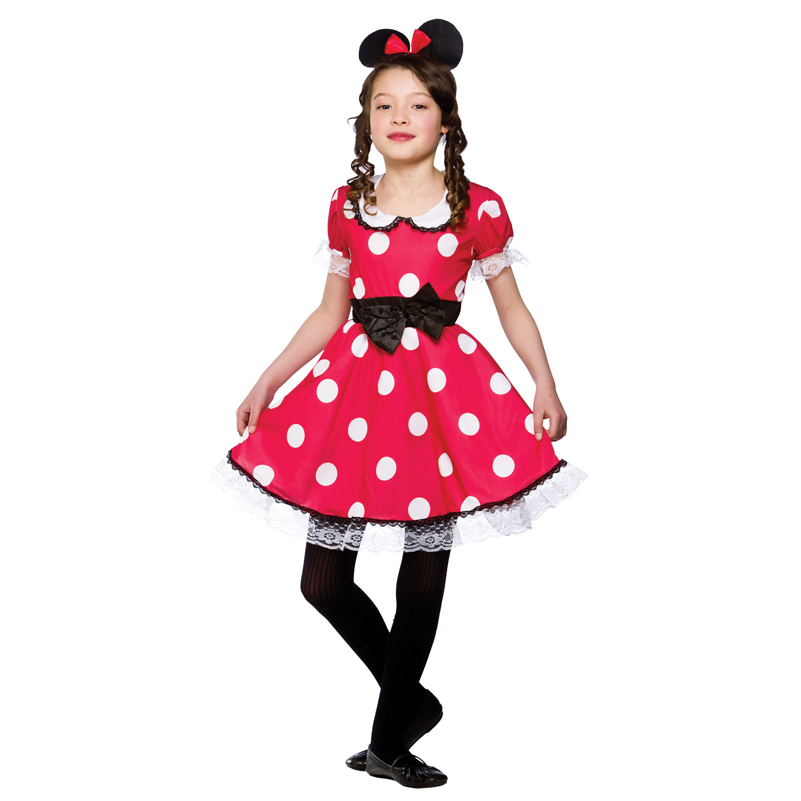Halloween Girls Princess Fancy Dress Up Costume Outfits: Girls Cute Mouse Girl Costume Fancy Dress Up Party
