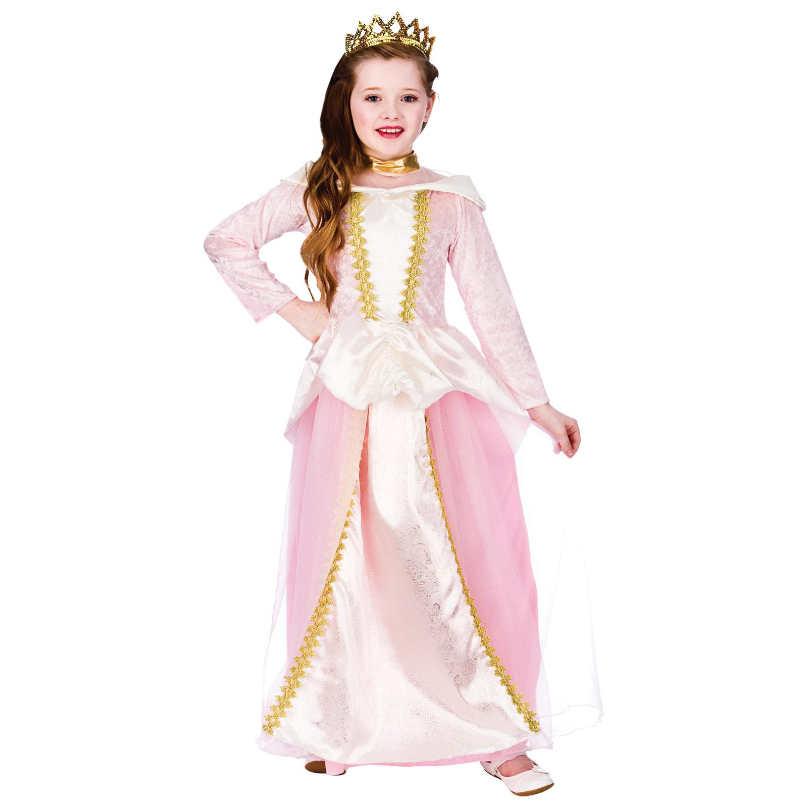 Halloween Girls Princess Fancy Dress Up Costume Outfits: Childrens Girls Fairytale Princess Halloween Fancy Dress