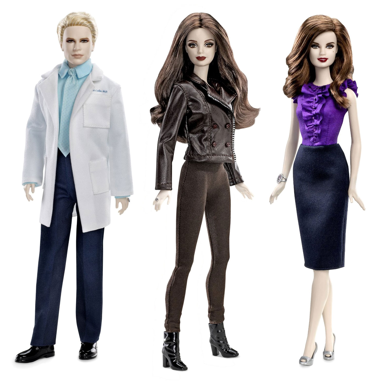 Barbie Twilight Saga Breaking Dawn Part 2 Dolls Pink Label Bella Esme Carsile