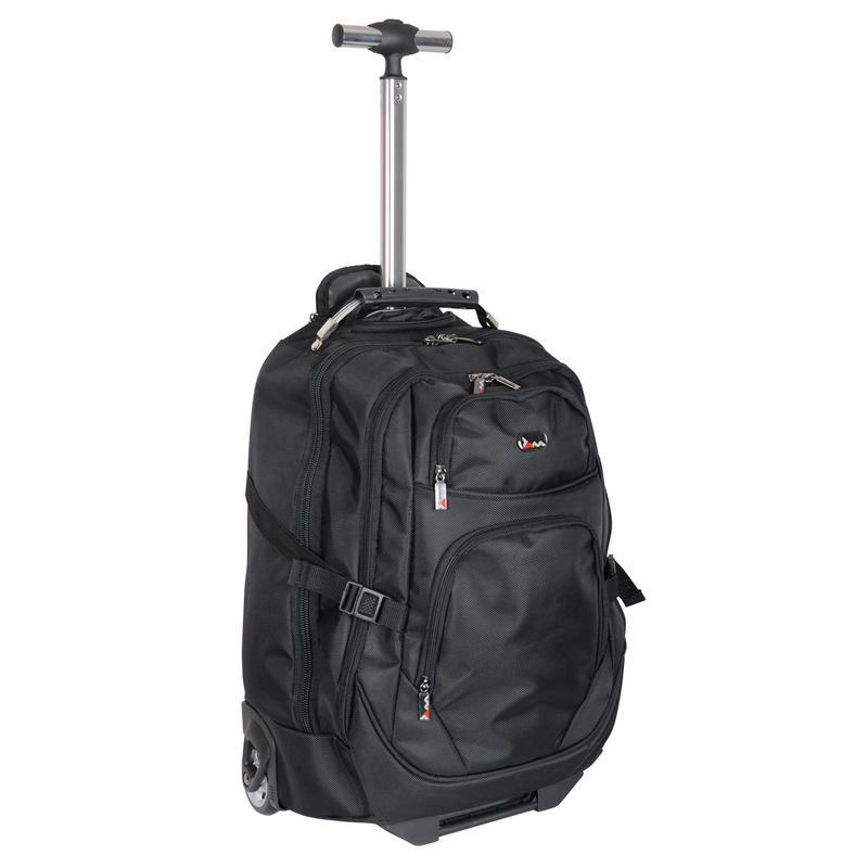 jam manhattan backpack trolley case laptop rucksack bag hand luggage. Black Bedroom Furniture Sets. Home Design Ideas