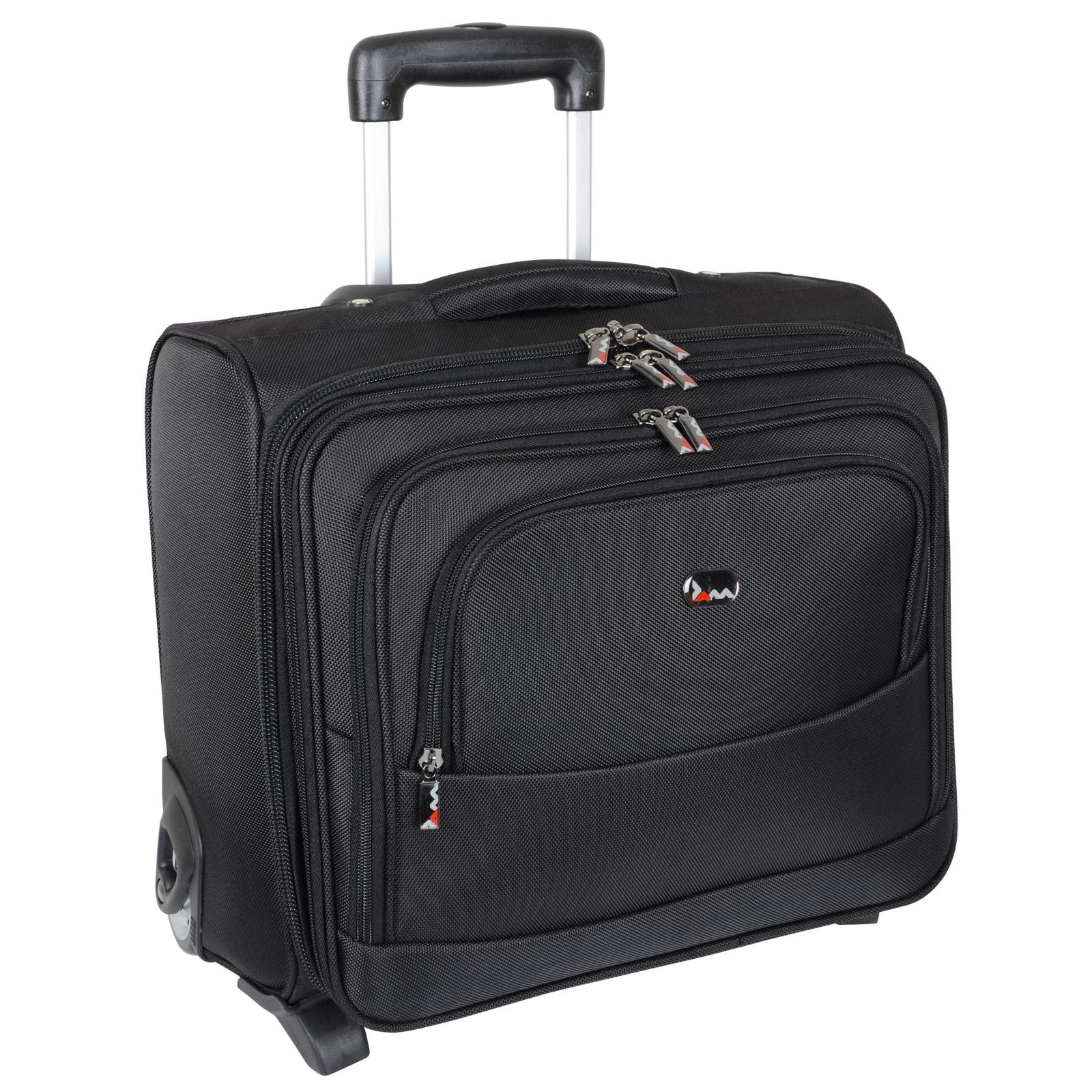 Boston Business Trolley Case Laptop Bag Overnight Flight ...